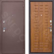 Входная стальная дверь Снедо Патриот Золотистый Дуб