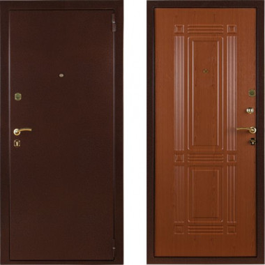 Металлическая входная дверь СТОП Бастион Клен