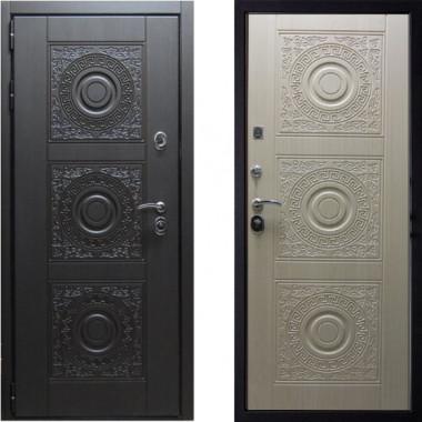 Металлическая дверь СТОП Богема Беленый Дуб